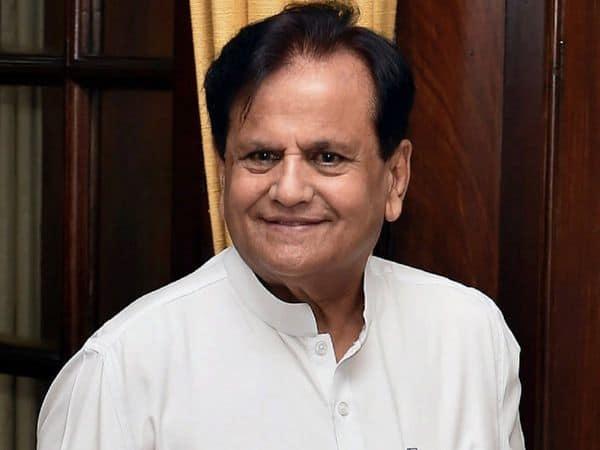 CM Condoles demise of Ahmed Patel
