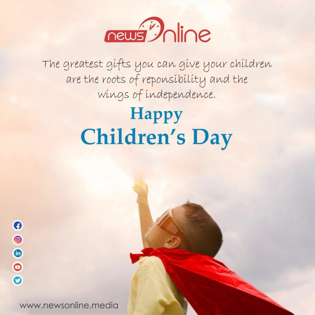 Happy Childrens Day 2020 poster