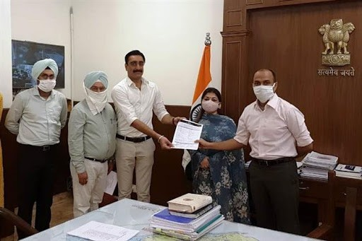 PATIALA ENTREPRENEUR GETS STATE'S FIRST CERTIFICATE UNDER RIGHT TO BUSINESS ACT-2020