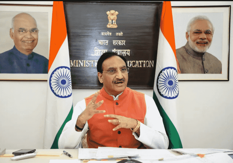 Union Education Minister virtually addresses a webinar on National Education Policy for Holistic Development: Issues, Challenges and the Way Forward