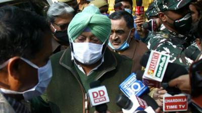 CAPT AMARINDER MEETS SHAH, APPEALS TO CENTRE & FARMERS TO FIND EARLY SOLUTION TO BREAK DEADLOCK ON FARM LAWS