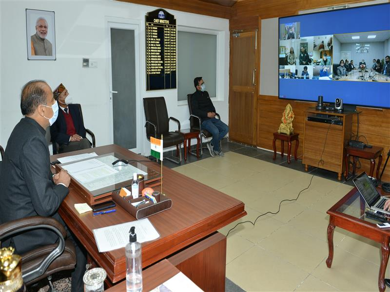 The Cantonment areas located in the State were playing a major role in motivating the youth of the State to serve the nation by joining the Indian Army.This was stated by the Chief Minister Jai Ram Thakur while presiding over the Defence Estates Day through video conferencing from Shimla today.