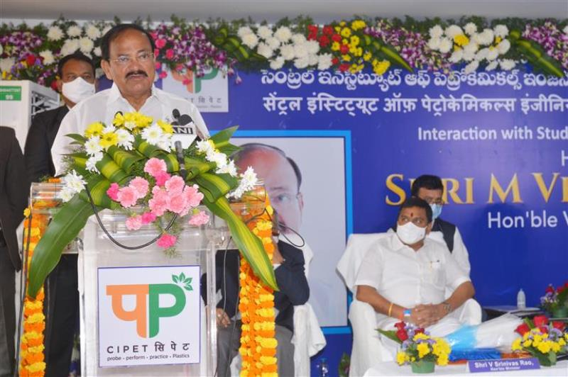 Turn challenges posed by COVID-19 pandemic into opportunities, Vice President tells youth