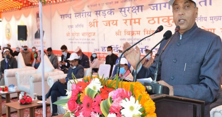 CM emphasis on sensitizing people on road safety and traffic rules