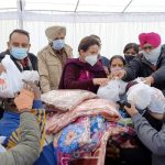 Parliament from Patiala distributed blankets and Lohri to 500 persons while celebrating Lohri festival with the poor and needy people of the city here today. Similarly, about 300 Patiala Slum Dwellers would also get Proprietary
