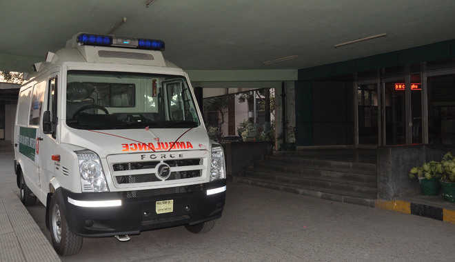 SJVNL donates ambulance to State Red Cross