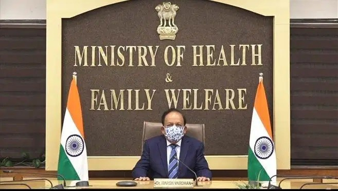 Union Minister for Health and Family Welfare today