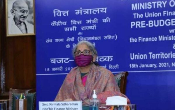 Finance Minister Smt. Nirmala Sitharaman holds Pre-Budget consultation