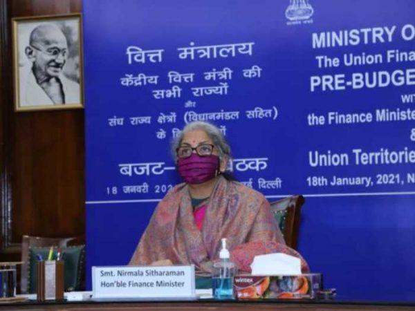 Finance Minister Smt. Nirmala Sitharaman holds Pre-Budget consultation