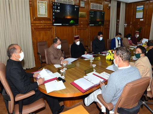 CS presided over the State Steering Committee meeting for implementation of Covid-19 vaccination