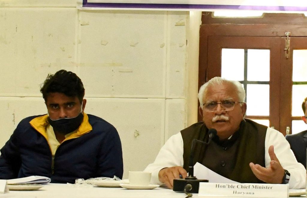 Haryana Chief Minister, Mr. Manohar Lal said that the upcoming state's budget for the year 2021-2022 would focus on Education, Health Security, Employment and Self-Reliance in which all sections of the society will be taken care of.