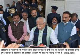 Haryana Chief Minister, Sh. Manohar Lal today directed the officers