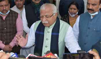 Haryana Chief Minister, Shri. Manohar Lal said that an amount of Rs. 7 crore