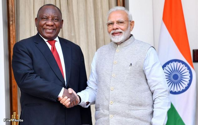 PM speaks to His Excellency Matemela Cyril Ramaphosa, President of South Africa