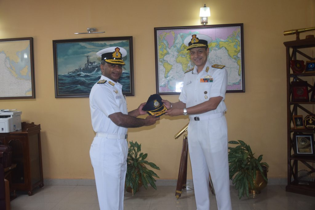 Rear Admiral S Venkat Raman Takes Charge Of Naval War College At Goa