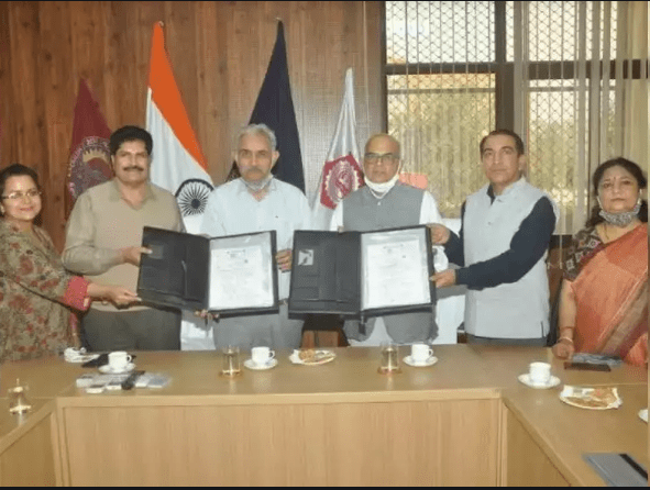 A memorandum of understanding (MOU) was signed between Chaudhary