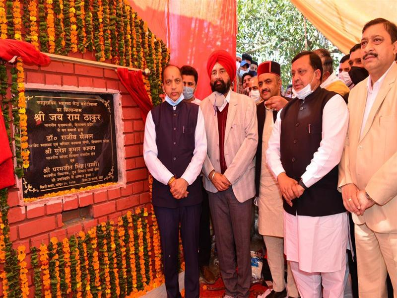 CM inaugurates and lays foundation stone of projects worth Rs. 29 crore in Doon Vidhan Sabha area