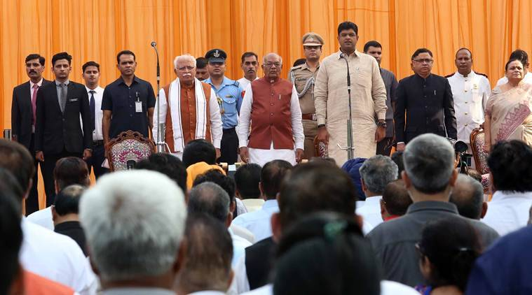 Haryana Chief Minister, Sh. Manohar Lal administered the oath of office to Sh. Bhopal Singh