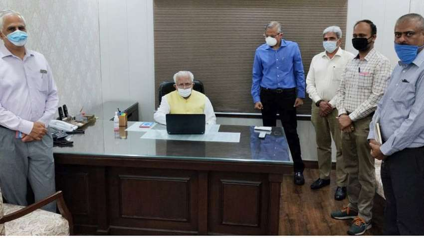 Haryana Chief Minister, Sh. Manohar Lal, while again reiterating