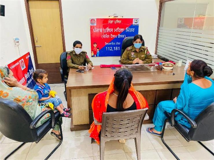 SAANJH HELP DESKS & `181' HELPLINE MAKE PUNJAB SAFER FOR WOMEN, CHILDREN, SENIOR CITIZENS