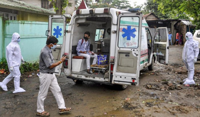 33 ambulances made available to facilitate Covid patients