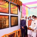 Chief Minister Jai Ram Thakur inaugurated and laid foundation stones of developmental projects worth about Rs. 50 crore in Drang vidhan sabha area of Mandi district today.