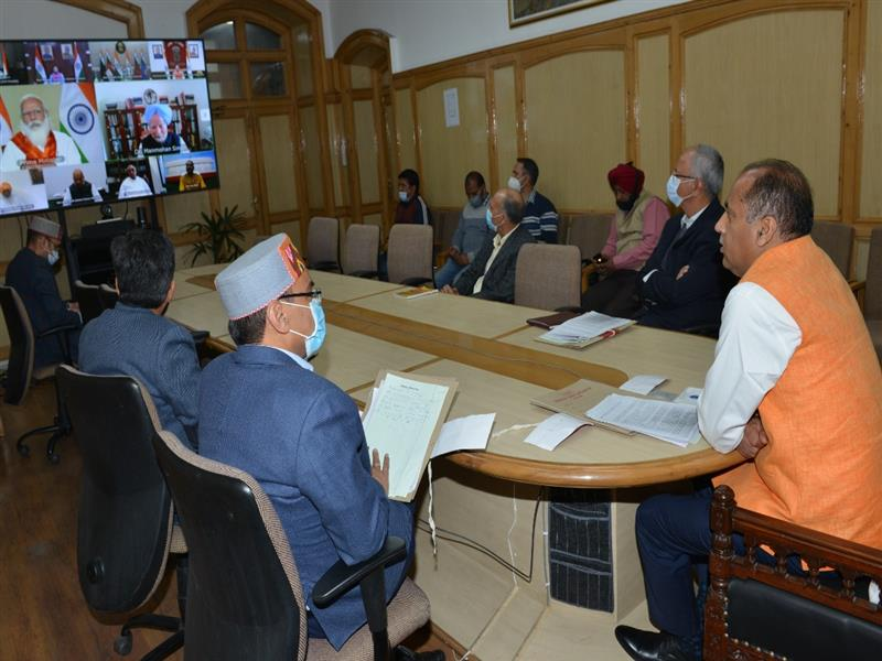 CM participates in high level meeting chaired by PM