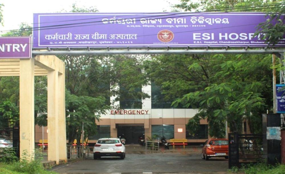 COVID-19 facility Dashboard for ESIC Hospitals