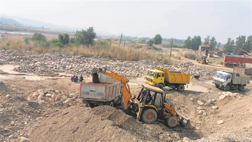 Chandigarh, April 2– Stringent steps taken against the mining mafia in the state by Haryana Mines and Geology Minister