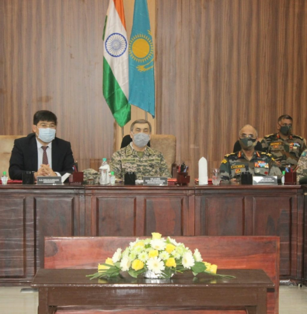 DEFENCE MINISTER OF KAZAKHSTAN VISITS JODHPUR AND JAISALMER