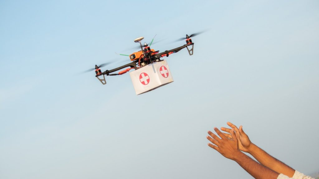 Drone use permission to ICMR for conducting feasibility study of Covid-19 vaccine delivery