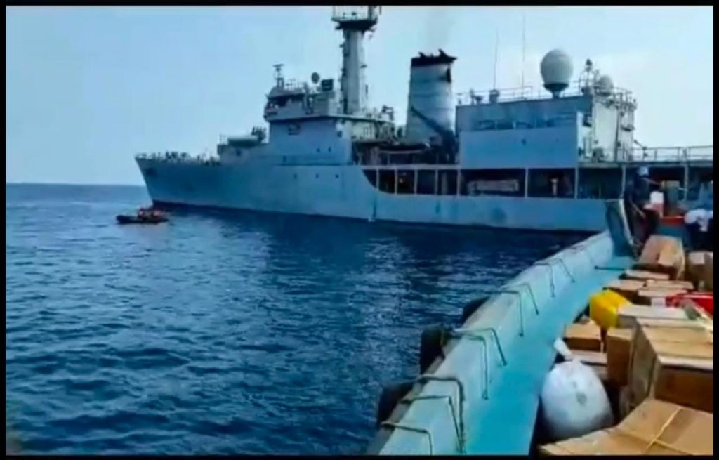 Indian Navy deploys Oxygen Express to Island Territories