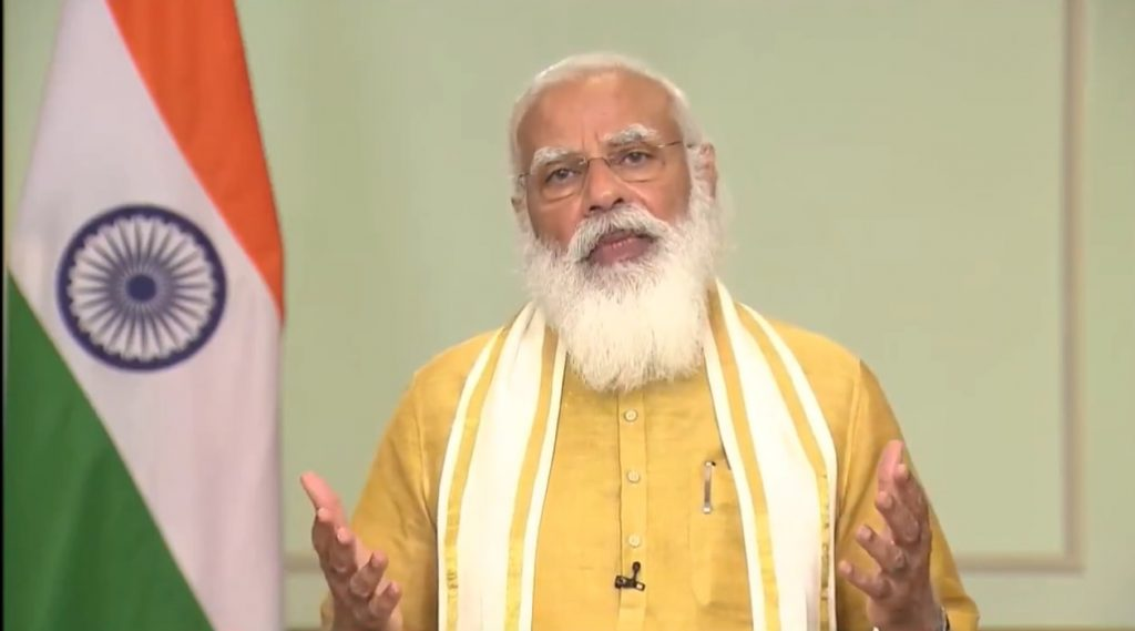 PM condoles demise of former Union Minister, Shri Digvijaysinh Zala