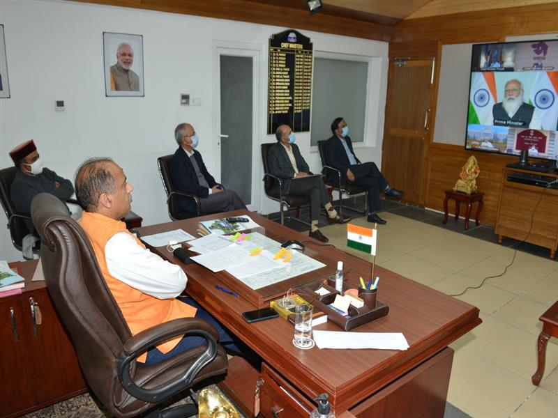 Prime Minister Narendra Modi today presided over the Video Conference with the Chief Ministers, Lt. Governors and Administrators of the States to review the emerging situation of COVID-19