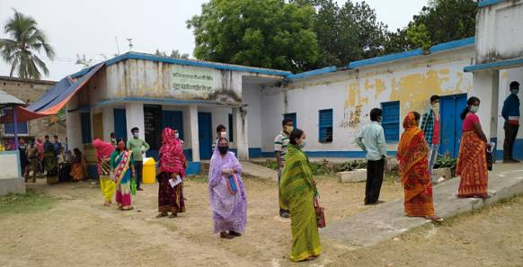 Polling held in 14,480 Polling Stations spread across 43 ACs in Phase VI WB Elections
