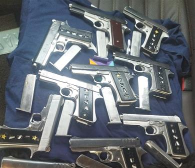 Punjab Police bust a huge illegal weapon manufacturing and smuggling module operating out of MP with 3 arrests