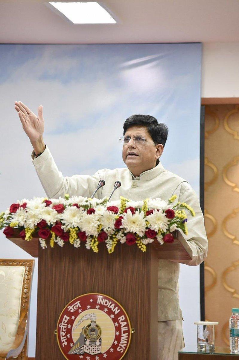 Shri Piyush Goyal dedicates Hansdiha-Godda New Line in Jharkhand