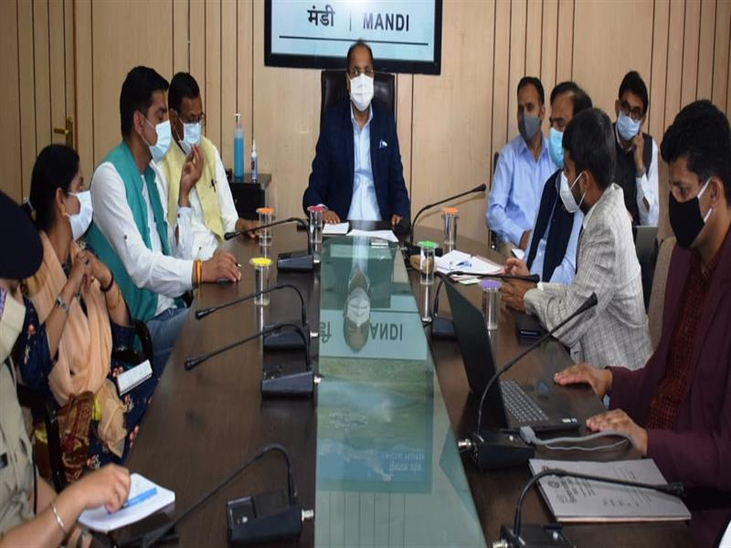 Special thrust must be laid on expanding and increasing the health infrastructure in the State to meet out anysharp surge in the cases of Covid-19. Chief Minister Jai Ram Thakur said