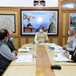 Chief Minister Jai Ram Thakur chaired a high level meeting here today to review the current status of Covid-19 in the state and took stock of various arrangements.