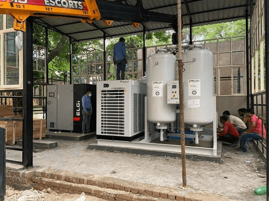 CSIR-CMERI Oxygen Enrichment Technology for the MSMEs to step-in for an Oxygen Sufficient India