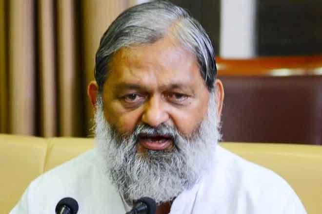 Haryana Home and Health Minister