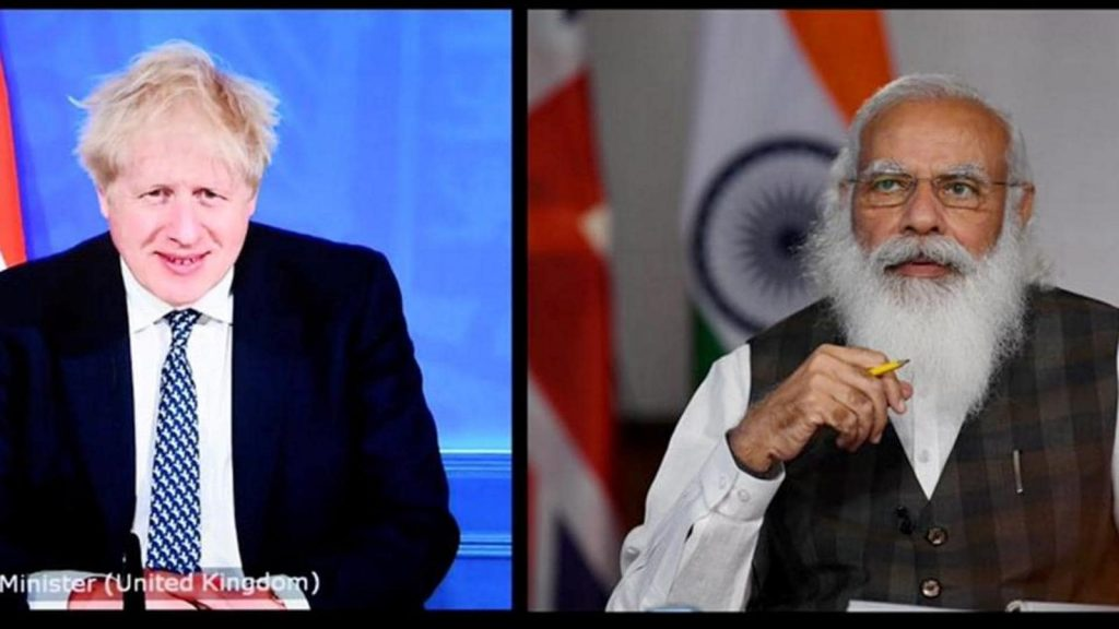 INDIA-UK VIRTUAL SUMMIT