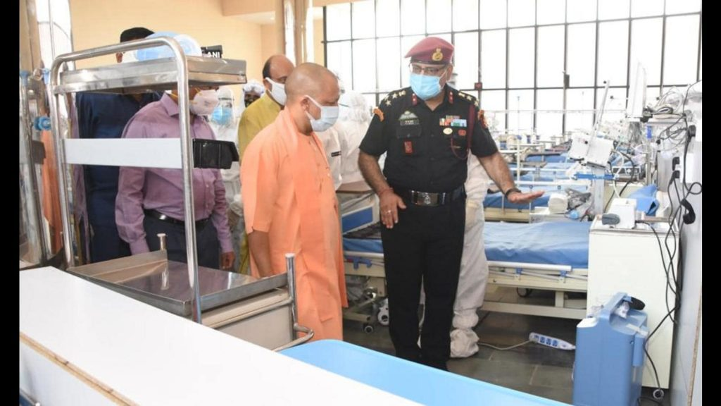 Keeping in view the sharp surge in number of Covid-19 cases in the State, the State Government apart from increasing bed capacity in various Medical Colleges