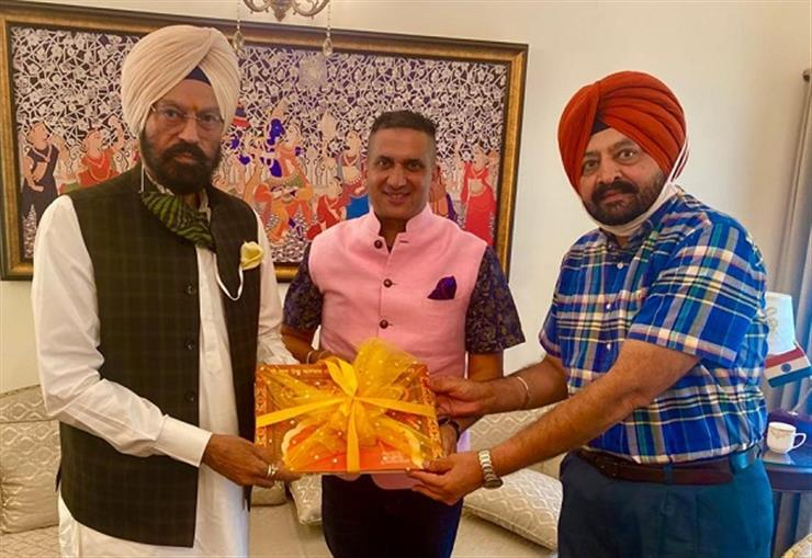 Punjab Sports, Youth Services and NRIs Affairs Minister Rana Gurmit Singh Sodhi, on Wednesday, released the Coffee Table Book depicting spiritual journey of Ninth Sikh Master, Sri Guru Tegh Bahadur Sahib.