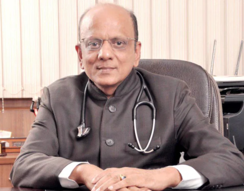 Padma Shree awardee and former national president of the Indian Medical Association Dr KK Aggarwal passed away after a long battle with Covid at New Delhi's All India Institute of Medical Sciences on Monday.