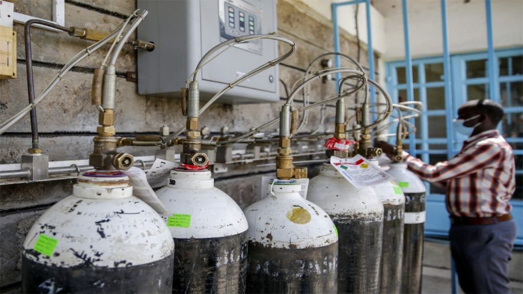 Steel companies from across the country, from both the public and private sectors, have stepped up efforts to meet the nation's requirement of medical oxygen. Yesterday,
