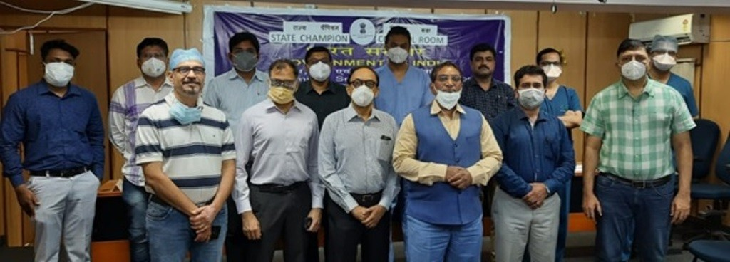 There are more than 100 private hospitals registered in Vidarbha Hospitals Association, Nagpur facing difficulties in supply of oxygen due to which they approached MSME-DI