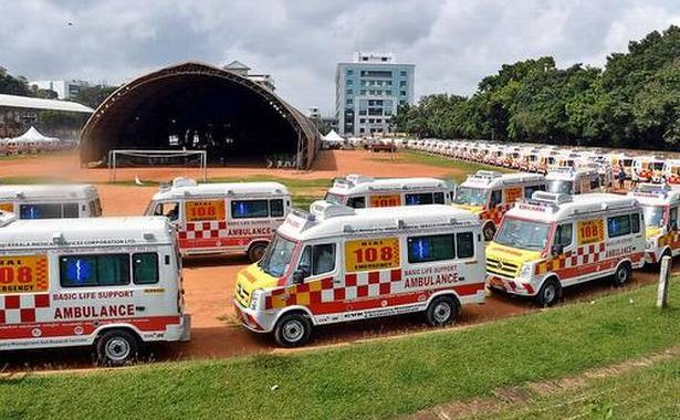 Timely response of ambulance services for the Covid- 19 patients being strengthened