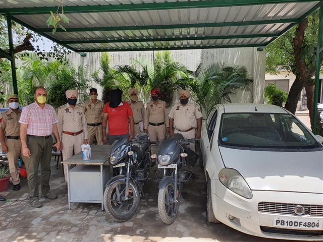 Another close associate of Drug smuggler Jaipal Bhullar held in Ludhiana