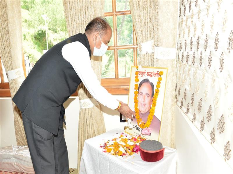 Chief Minister Jai Ram Thakur today visited the native place of Chief Whip and MLA from Jubbal Kotkhai Narinder Bragta at Tehtoli in Kotkhai area of Shimla